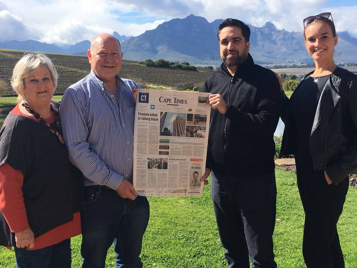 """Cape times on twitter: """"the cape times breakfast is sold out."""