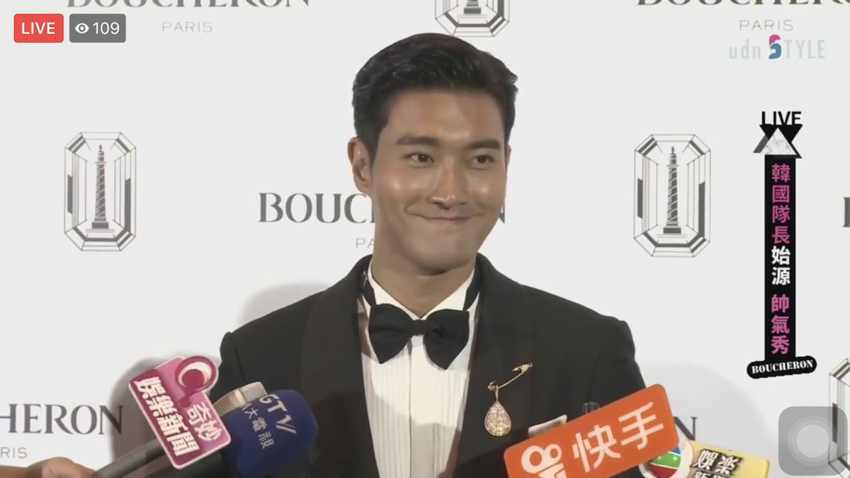 Charming smile 😊 Siwon at Boucheron Paris Event in Taipei - 060918 #ChoiSiwon #SiwonChoi #Siwon #최시원 #崔始源 #Boucheron #Siwon407 #始源 #始源欧巴 #Siwonest #宝诗龙 #寶詩龍 @siwonchoi