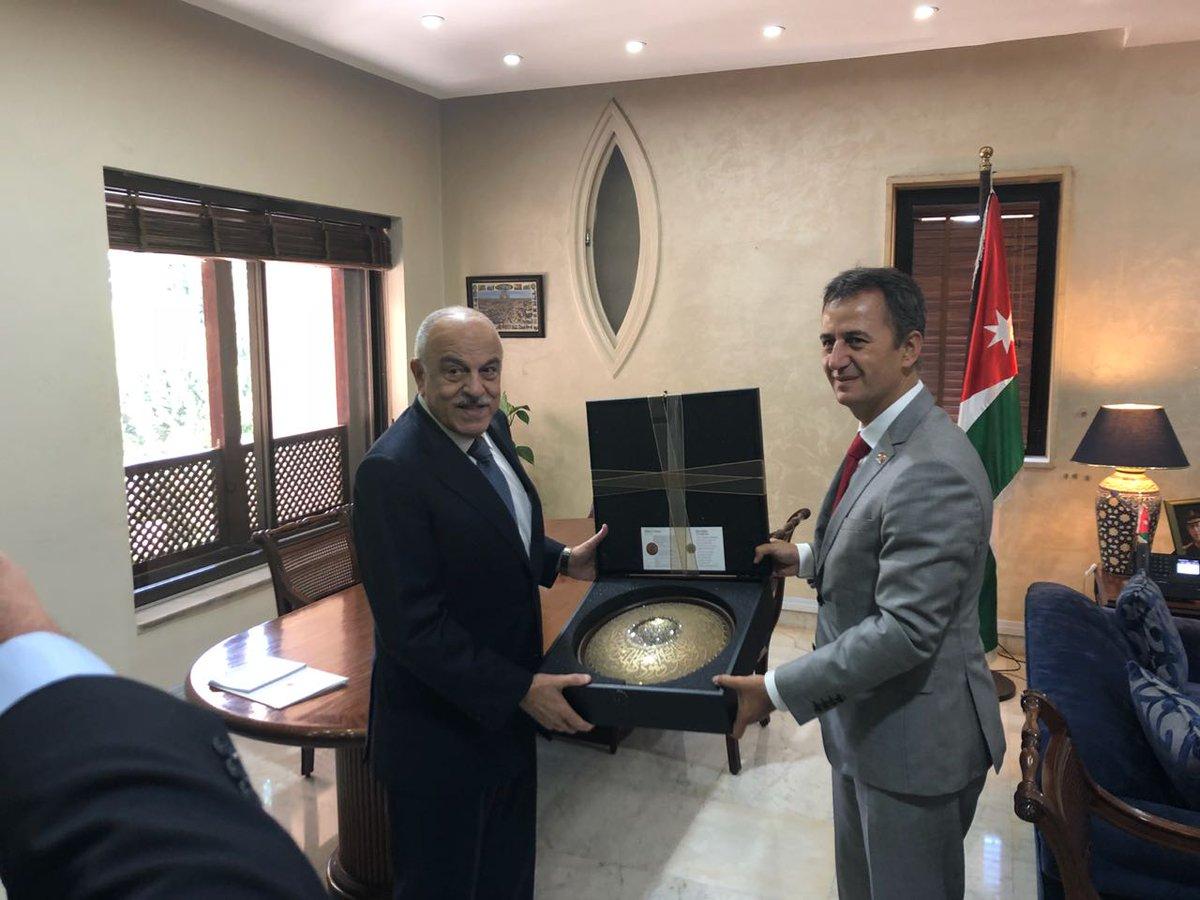 Aselsan  التركية تبحث مع الأردن سبل تعزيز التعاون في مجال الصناعات الدفاعية DmaFypTWsAAMs_E