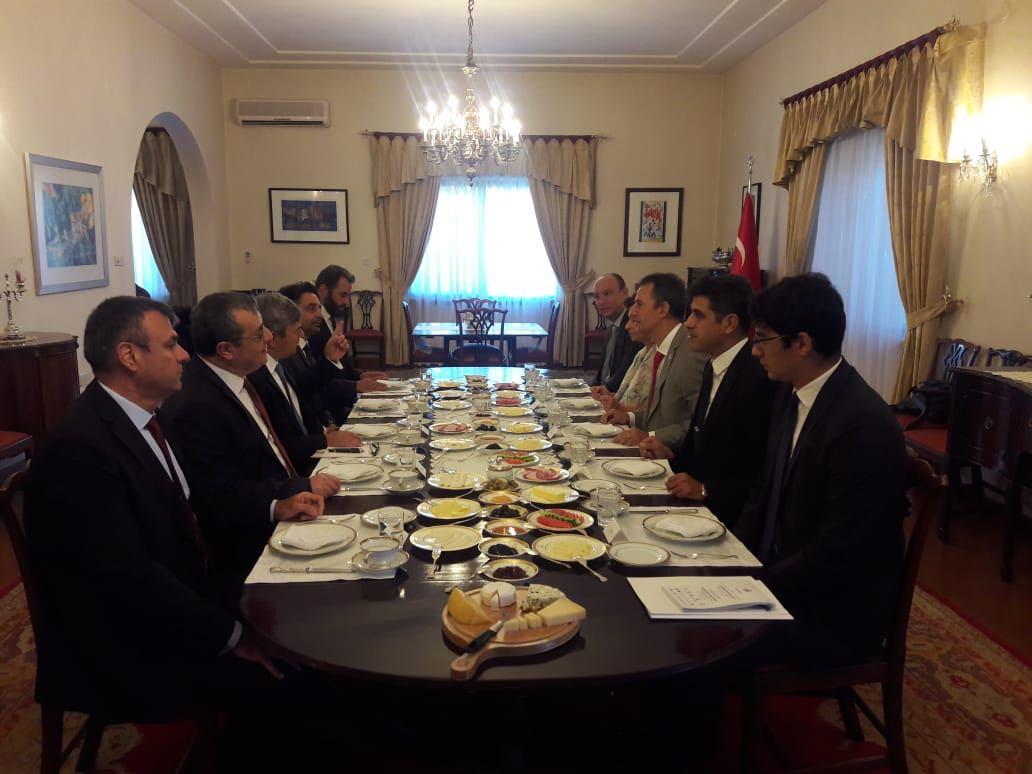 Aselsan  التركية تبحث مع الأردن سبل تعزيز التعاون في مجال الصناعات الدفاعية DmaFypUX0AA4RXn