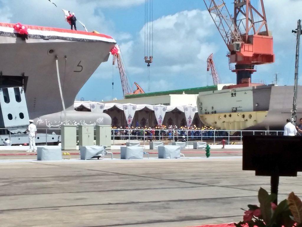 كورفيتات Gowind 2500 لصالح البحرية المصرية  - صفحة 2 DmaG3B0XoAAUox_
