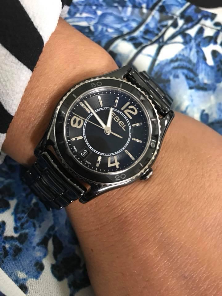e617ea875 Black Beauty - EBEL. #swissmade #ebelwatches #officialdealer #ceramic