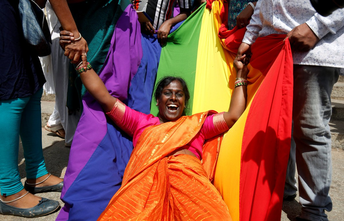 India's Supreme Court just decriminalized gay sex.  It's a historic ruling that overturns more than 150 years of anti-LGBT legislation.