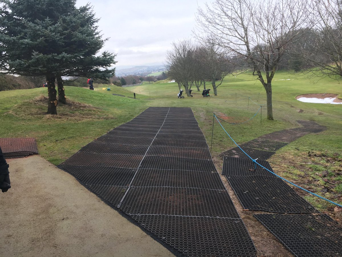 test Twitter Media - The rubber matting we put down at the 8th has been a massive success to date. What would normally be a worn out walkway is now looking great. Hopefully it continues to work through the winter. https://t.co/2rceNkD3KK