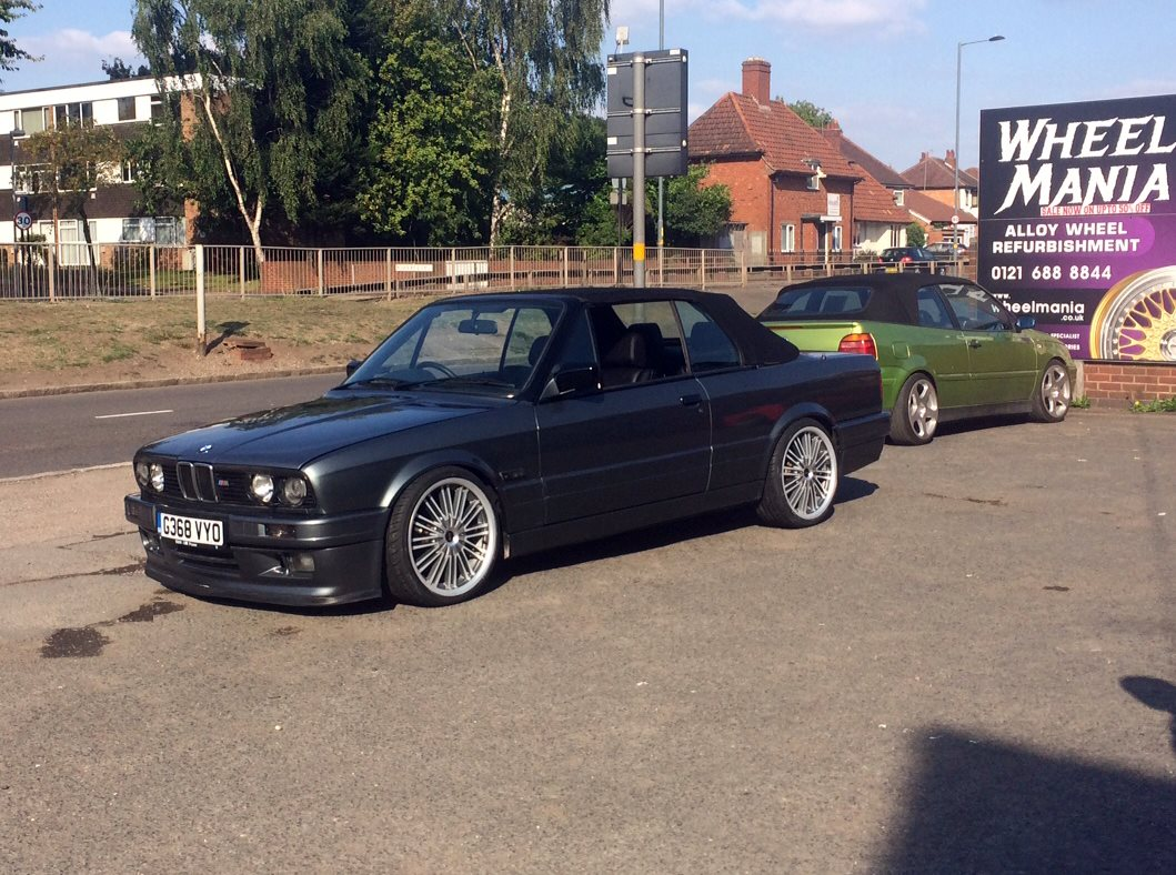 Wheelmania On Twitter Bmw E30 Fitted With 18 Mania
