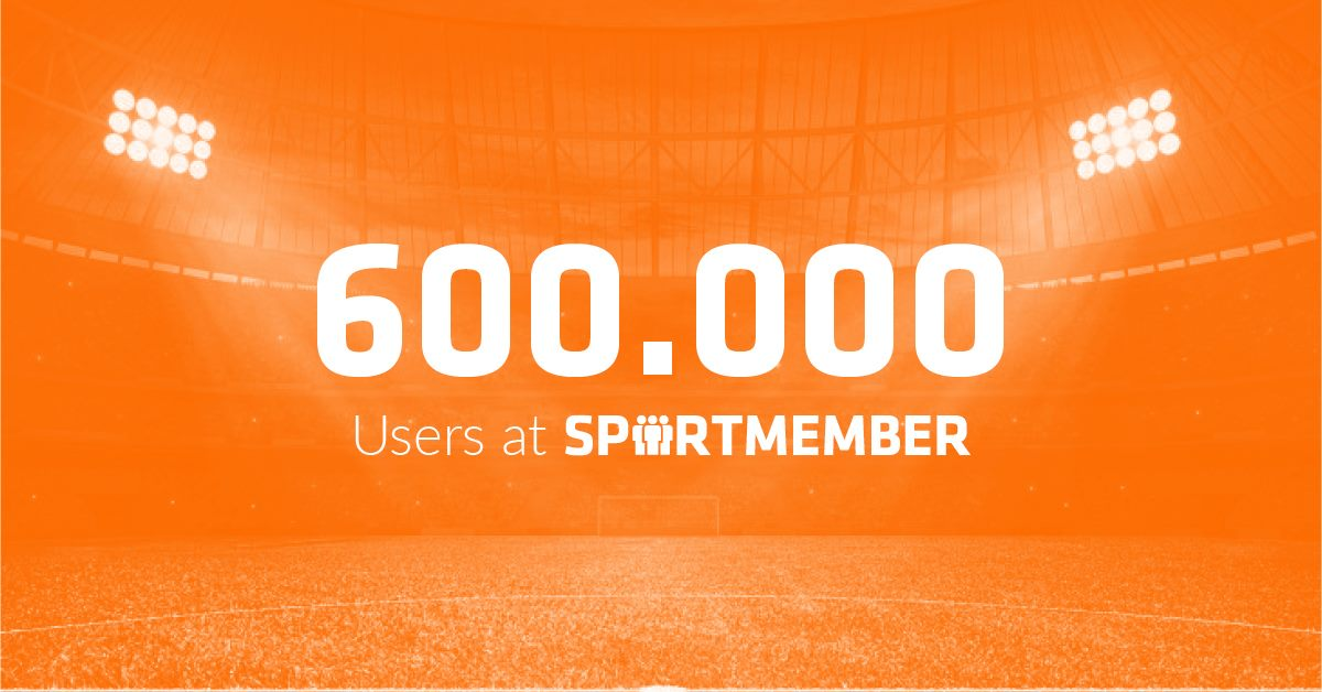 😲 600.000 USUARIOS EN SPORTMEMBER 😲 ¡Ya somos más de 600.000 usuarios! Gracias a todos por hacer que en #SportMember tengamos la comunidad deportiva más grande de Europa. Gracias por la confianza depositada en #SportMember. 🙏🏻http://www.sportmember.es