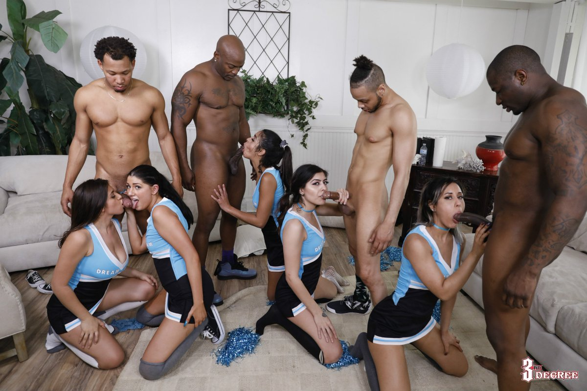 Nude cheerleaders gif
