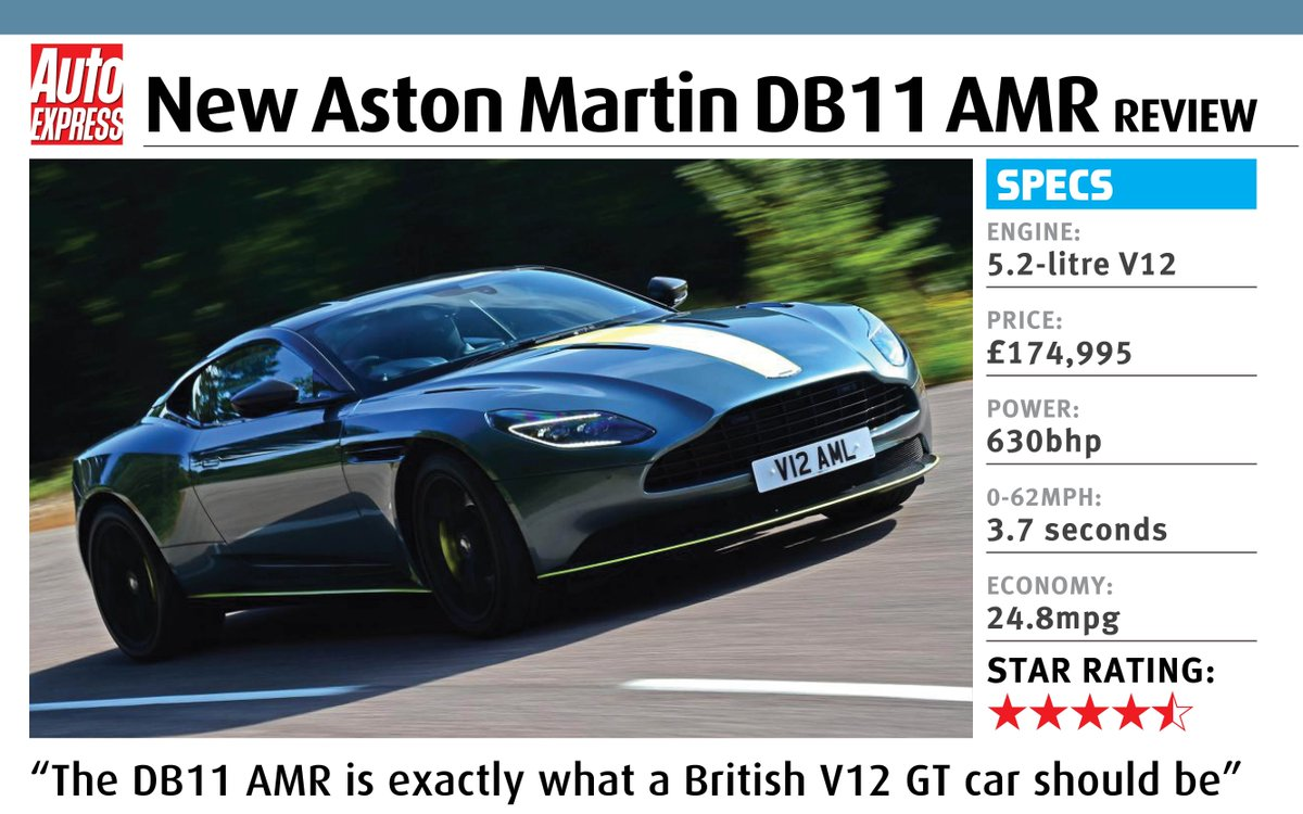 Auto Express On Twitter Review The Astonmartin Db11 Amr Is The