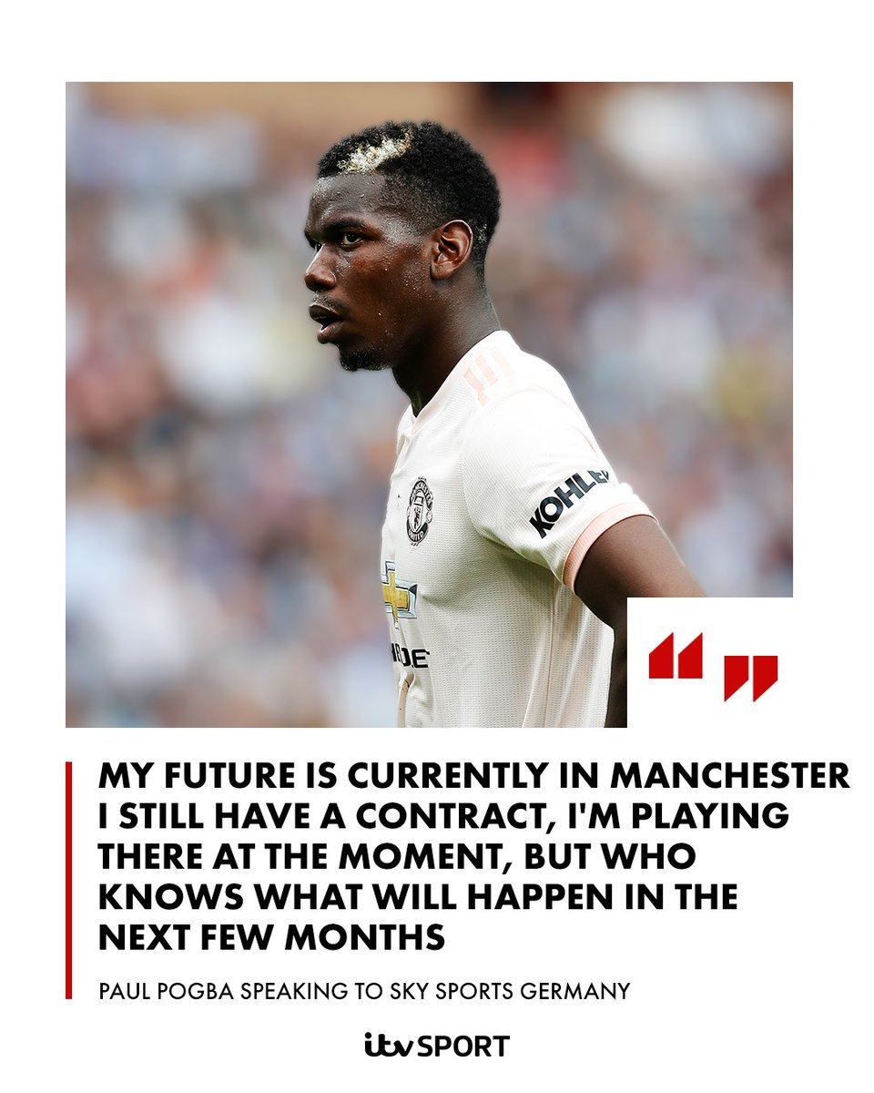 815243d92 Pogba has admitted talk about his Man United future is  inevitable ...