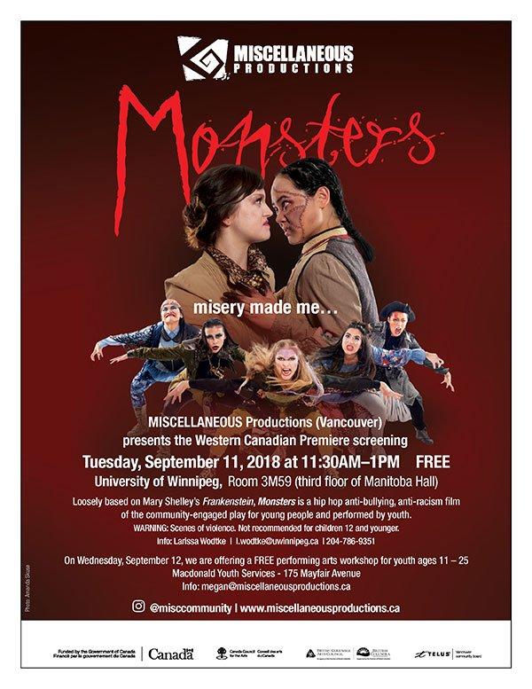 Monsters Screening Flyer