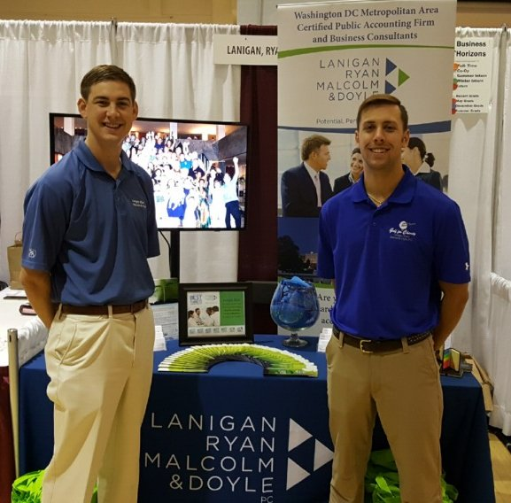 Were At The VTPamplin BHcareers Fair In Squires Student Center TODAY