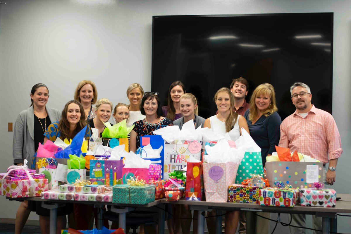 We couldn't do what we do without organizations like @Sonepar_USA to provide gifts for foster children with birthdays this month!