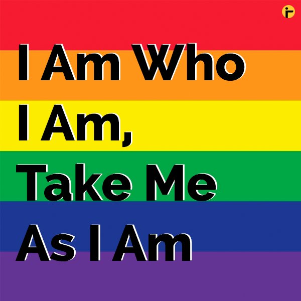 """I am what I am. So take me as I am. No one can escape from their individuality.""  The Supreme Court of India decriminalises homosexuality today. Let's celebrate love.   #Section377 #LGBTQ #Section377NoMore #LoveIsLove https://t.co/4L83DbPjUS"