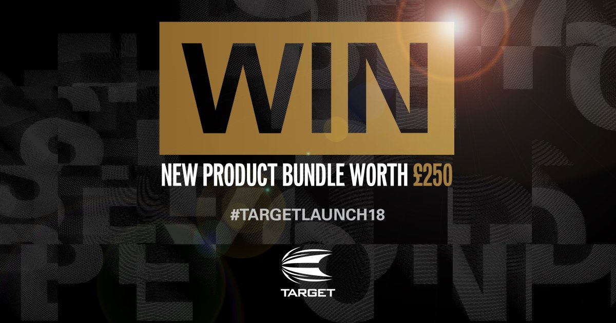 2018 PRODUCT LAUNCH - COMPETITION: For your chance to WIN new product bundle worth £250 – RT this tweet & reply with the hashtag #TargetLaunch18. + If you use the hashtag #TargetLaunch18 throughout the day, each time will count as an additional entry. Winner announced Friday!