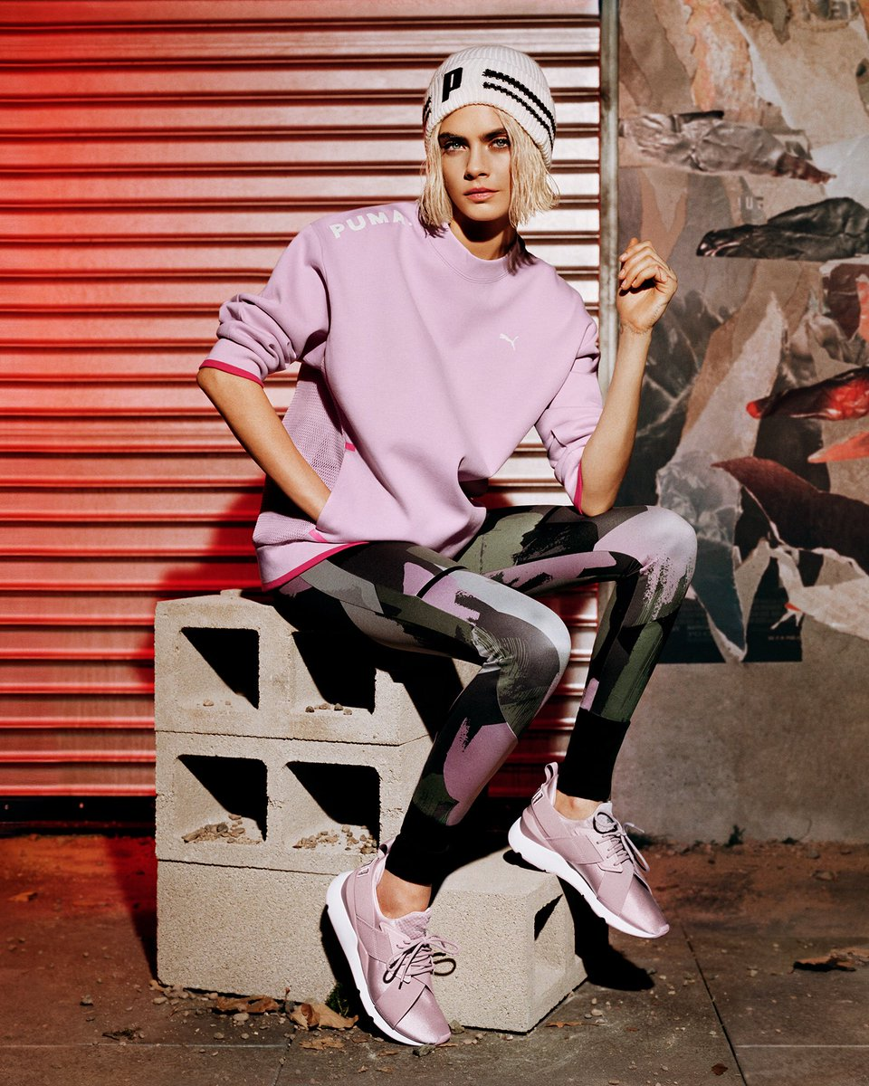 RT @Caradelevingne: #DoYou in the #Muse Satin II from @pumasportstyle #ad https://t.co/COMumMALii