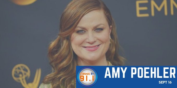 Happy birthday to Amy Poehler; American actress, comedian, director, producer, and writer.