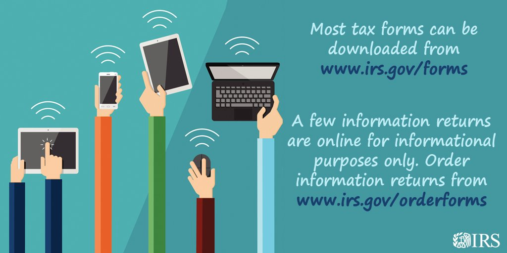 Irs On Twitter Looking For Tax Forms Many Are Available To