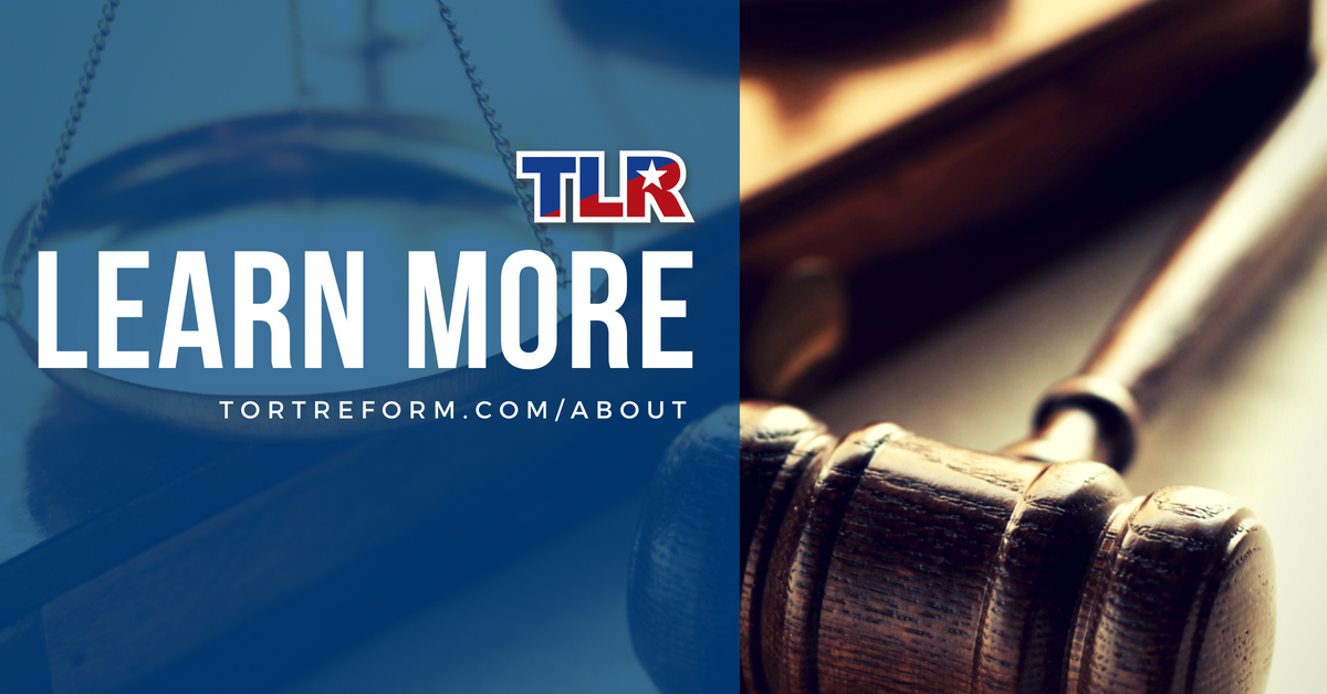 """effects of tort reform in texas Introduction the idea of """"tort reform  aaf focused exclusively on tort reforms related to  we chose to focus on the effects of medical tort reform on."""