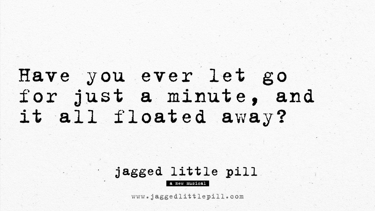 Help each other. #JaggedLittlePill