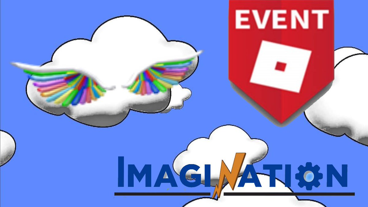 Rainbow Wings Roblox Event Enternal Developer On Twitter Imagination Event How To Get The Rainbow Wings On My Channel The Roblox Event Crew