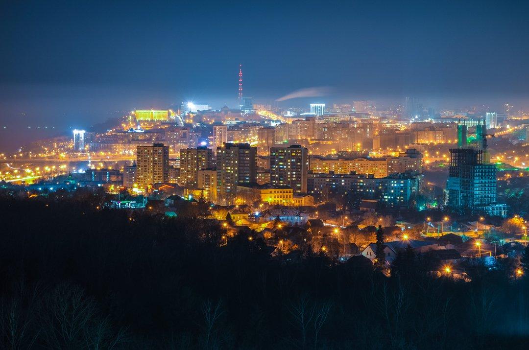 картинки ночного города уфа можно хранить такой