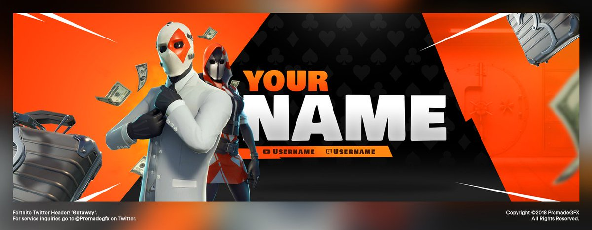 Getaway' Twitter Header now in the shop! 🚀 Only £5! 🔥 Download