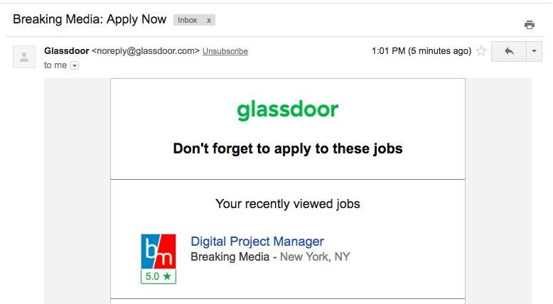 glassdoor jobs near me