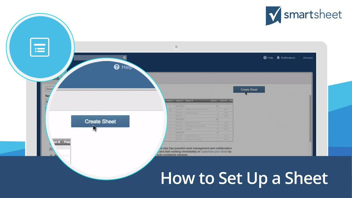 smartsheet on twitter create your first smartsheet with this step by step tutorial httpstcogoe3xio6pt