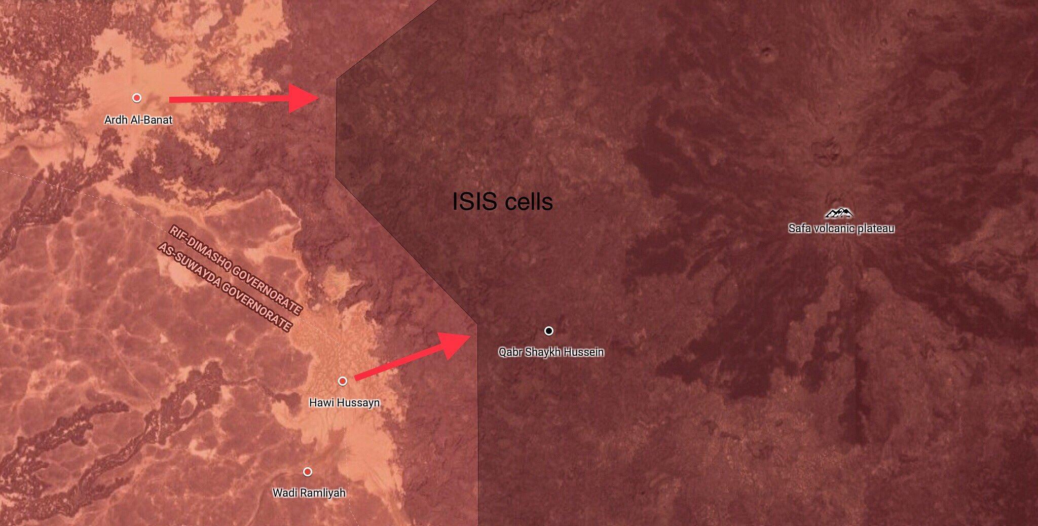 Syrische Armee rückt auf den Safa-Hügeln weiter gegen ISIS vor | Ein ...