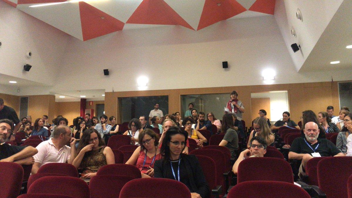 Q&A at #KeynoteGonzalezRuibal #EAA2018