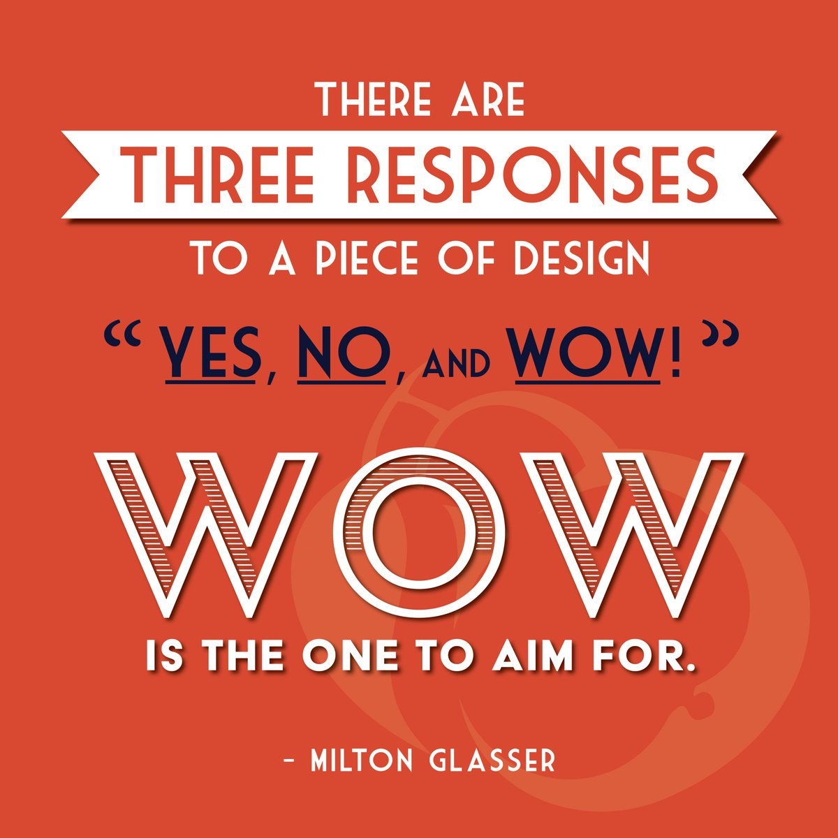 We couldn't agree more! #quotestoliveby #graphicdesign #Wow #famousdesigner #miltonglasser #typographypic.twitter.com/8g5PN3srgi