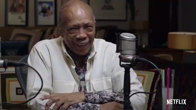 The trailer for @QuincyDJones' documentary has arrived! 'QUINCY' takes an intimate look at the icon's life: bit.ly/2oJ4aiG