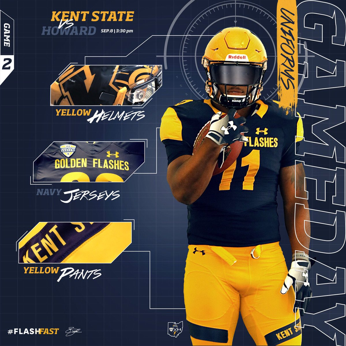 cheap for discount 0ce92 41954 Kent State Football on Twitter: