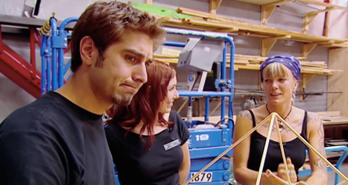 'Sometimes people ask what I think the stupidest myth we ever tested was. For me the lamest myth was pyramid power, from 2005. Remember that one?' -- @ToryBelleci i #tbt   [Miss the episode? Watch it now on Discovery GO: https://t.co/ru4NYhdewa]