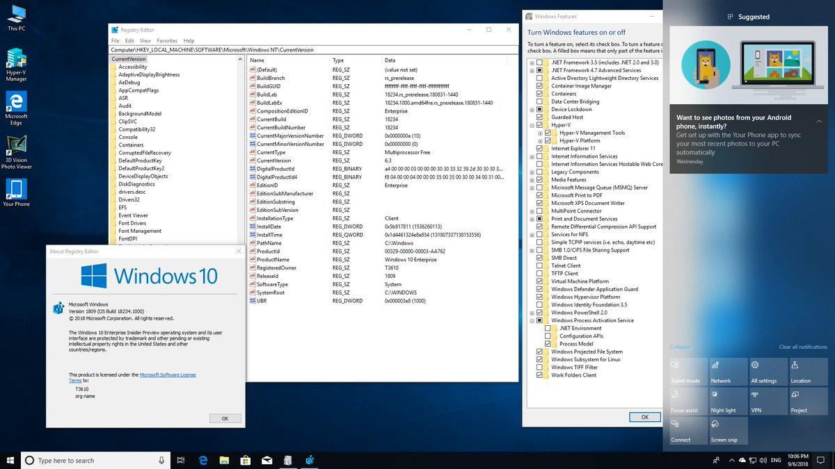 Audit Mode Windows 10 1809