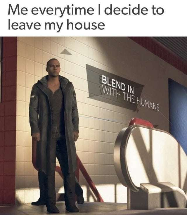 Blend in with the Humans seems like a one and done Detroit Become Human Meme, but it's worth a short term investment. . . . . . #meme #memes #dankmemes #dank #dankmeme #mememoney #memeeconomics #memeeconomy #memefolio #memeinvestment #comedy #funny #vide…