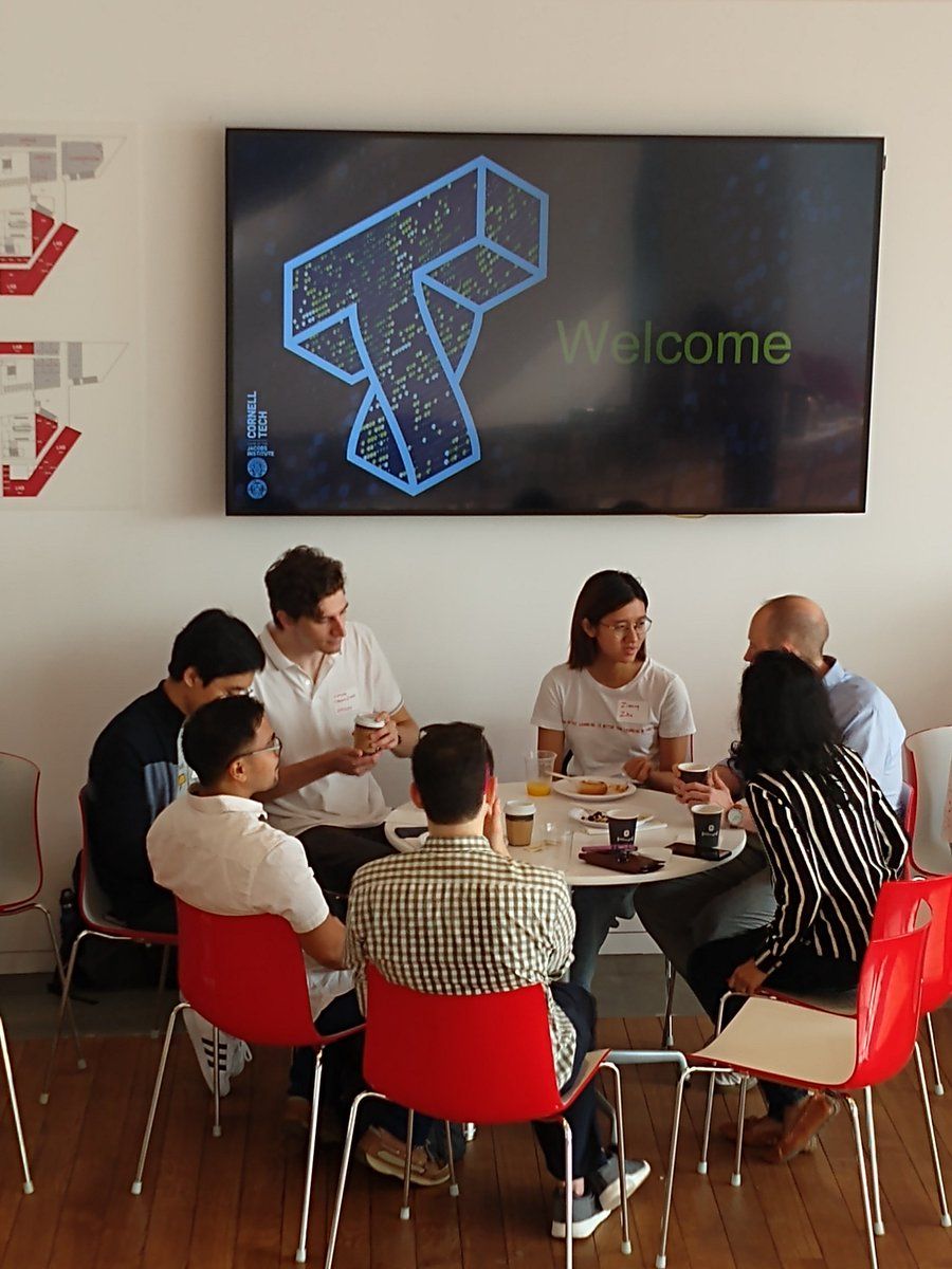 This morning we welcomed Company Advisers for Product Challenges from top companies across New York City. Learn how your company can submit a product challenge here: bit.ly/2M6X4h7 #CornellTechStudio