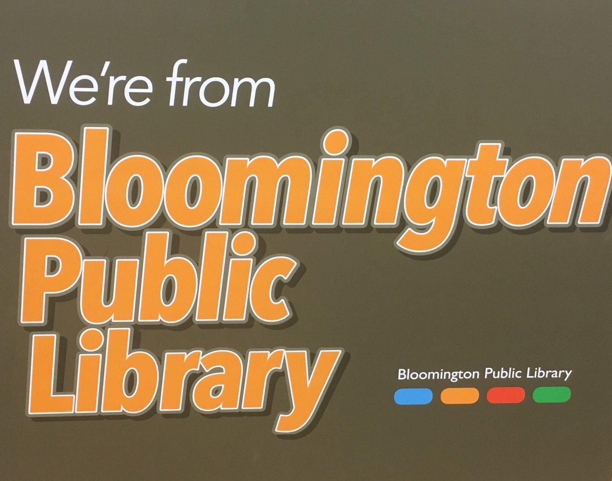 Bloomington Library (@bloomingtonlib) | Twitter