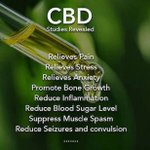 If you are suffering from any of the ailments below ⬇️ than CBD might be exactly what you need. Visit our website for more information on our products https://t.co/3zSpme7o6g 🌱  #CBDOil #CBD #HempOil #HempOilExtract #Vape #Vaping #Organic #USARaised #Colorado #California
