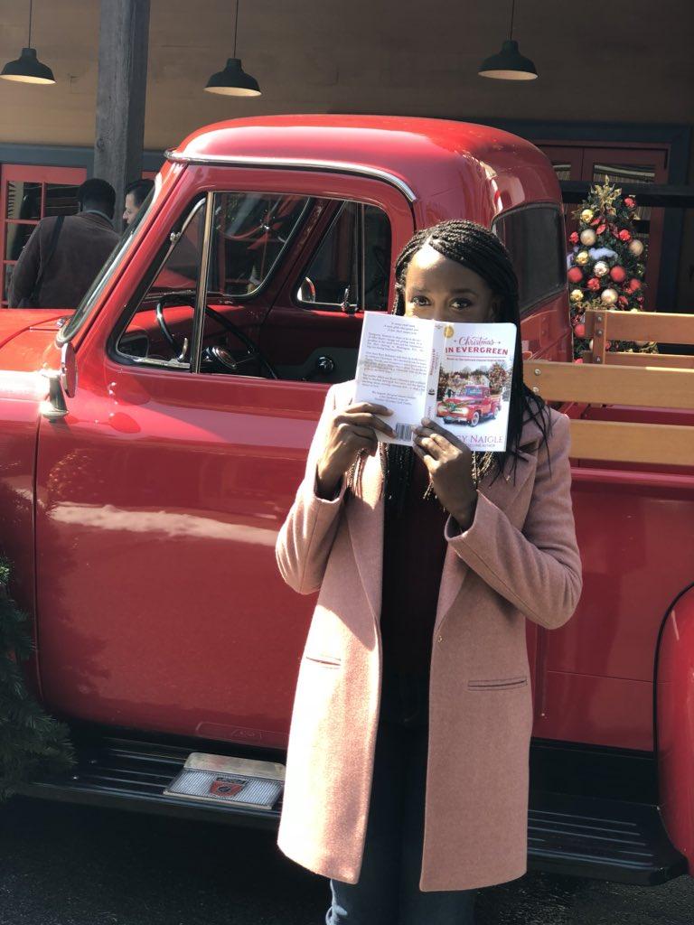 Christmas In Evergreen Truck.Hallmark Publishing On Twitter Thanks For This Sneak Peek