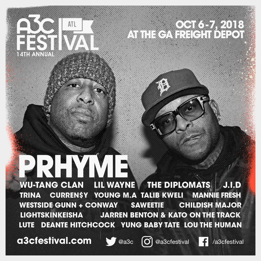 See you there 👊🏿 @PRhyme_Official @REALDJPREMIER @A3C