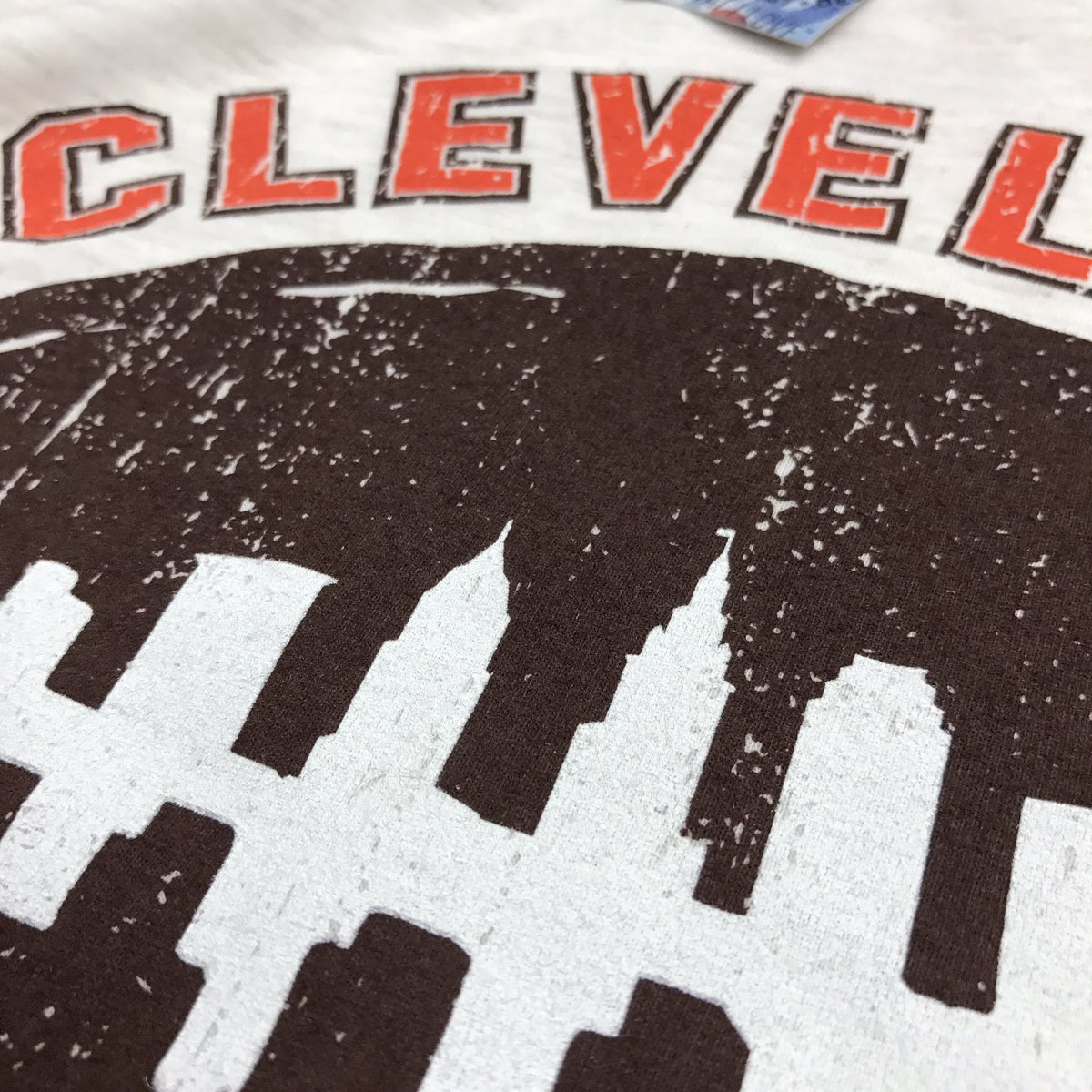 78558c3ec27 Check out a sneak peek of our brand new Cleveland Football Skyline design  dropping tomorrow morning online and in both stores! Available in unisex t  shirt ...