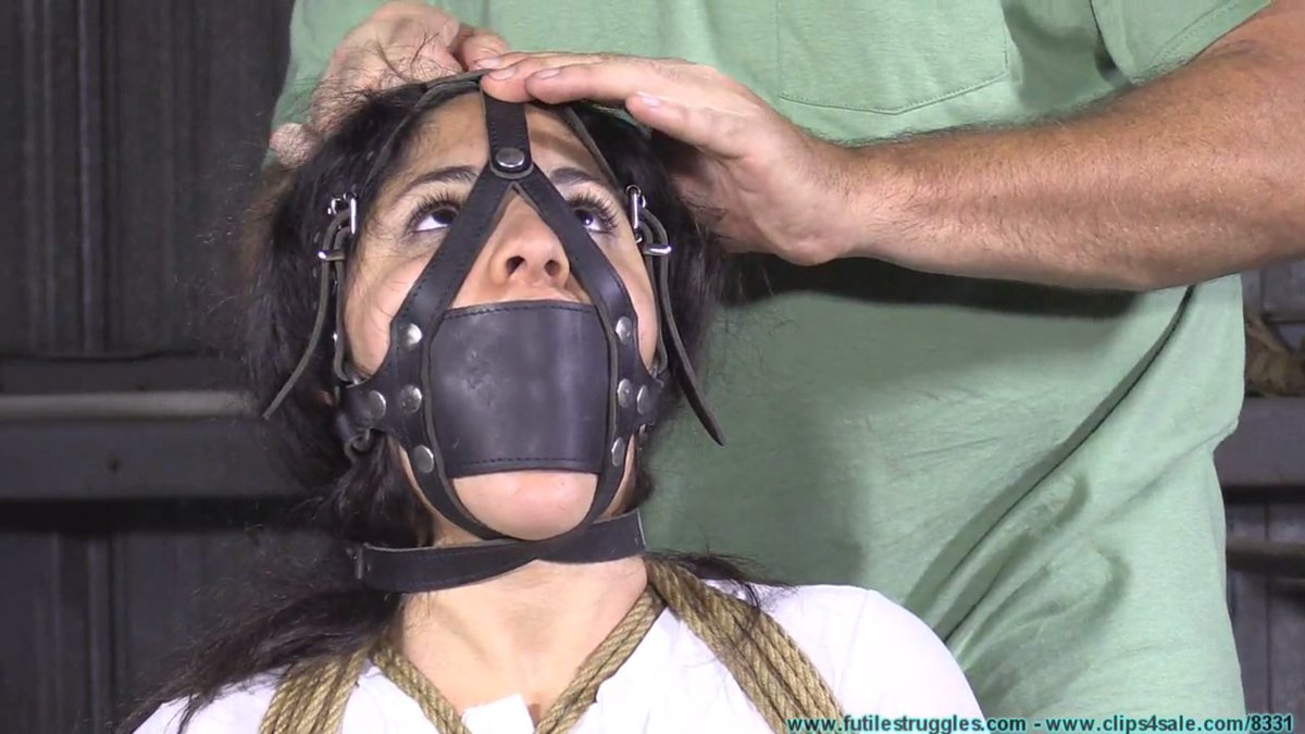 Peter In Bondage Gag Bdsm Fetish