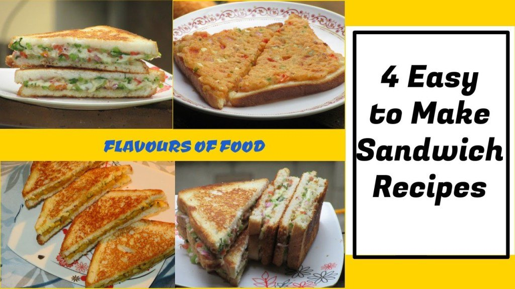 4 Easy Sandwich Recipes | Quick & Tasty sandwich recipes- Breakfastrecipe https://t.co/DkqrvbdPBl https://t.co/kWIU1IOSUM