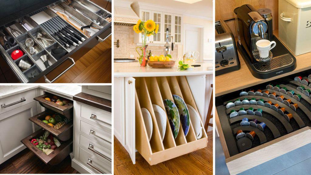 Dwell360 On Twitter Genius Kitchen Storage Ideas For