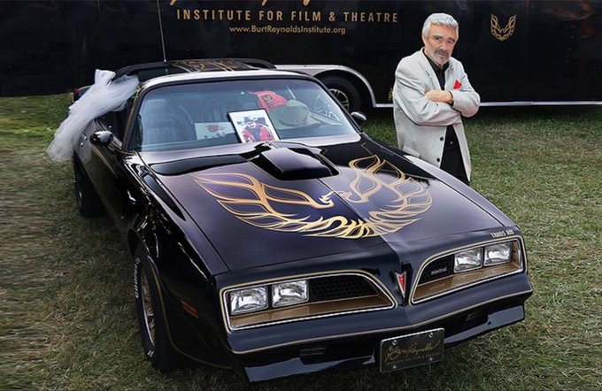 I just got a Trans Am. Welcome Burt! https://t.co/Jevv5UpyfP