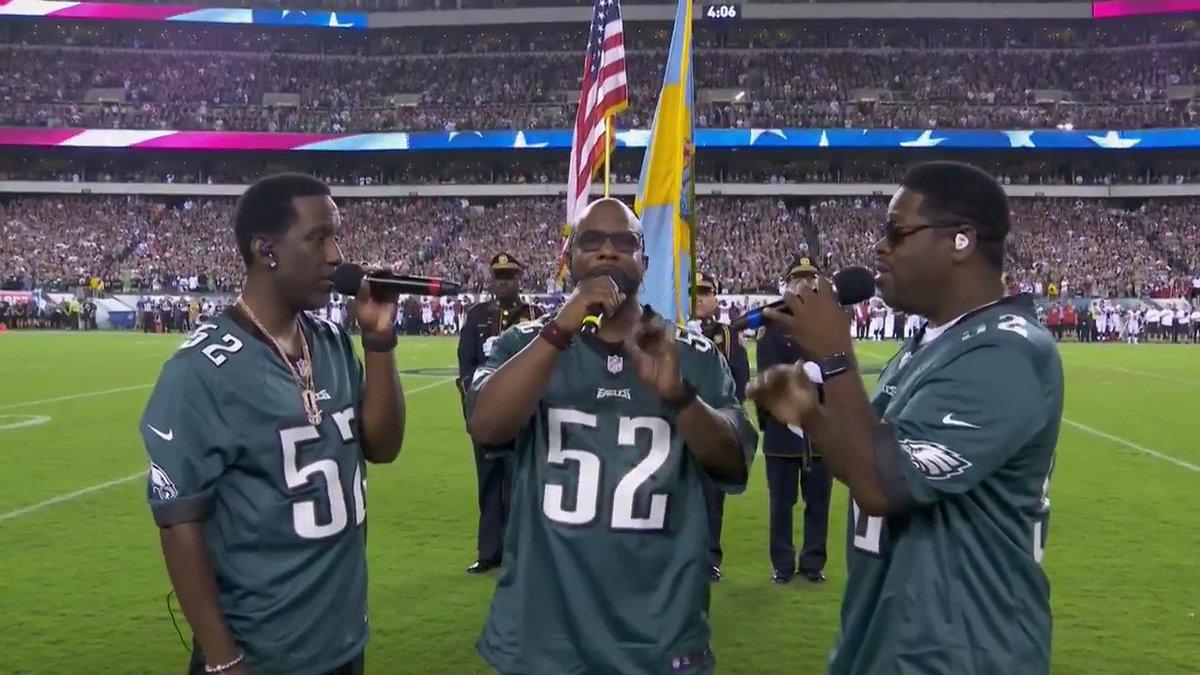 We need @BoyzIIMen to perform the National Anthem every game (via @Eagles)