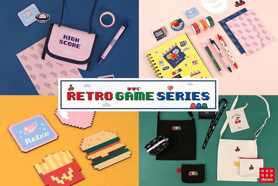 """ไดโซะเกาหลีซีรีย์ใหม่ """"Retro Game Series"""" แนวย้อนยุค8บิต 👾🕹 น่ารักมาก ไปตำได้ที่เกาหลีช่วงนี้เลย  💛💚💙💜❤️ #รีวิวไดโซะ #รีวิวเกาหลี #รีวิวเครื่องเขียน #Popsicleidea https://t.co/hmbbosXoHC"""