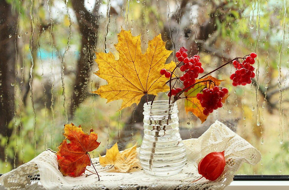 Открытки с теплой осенью, новому году своими