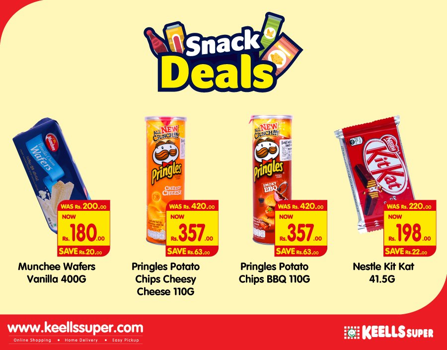 It's Munchin Time. Get your favourite snacks at the best offer at any Keells Super. *T&C https://t.co/rm01ME0f9Y